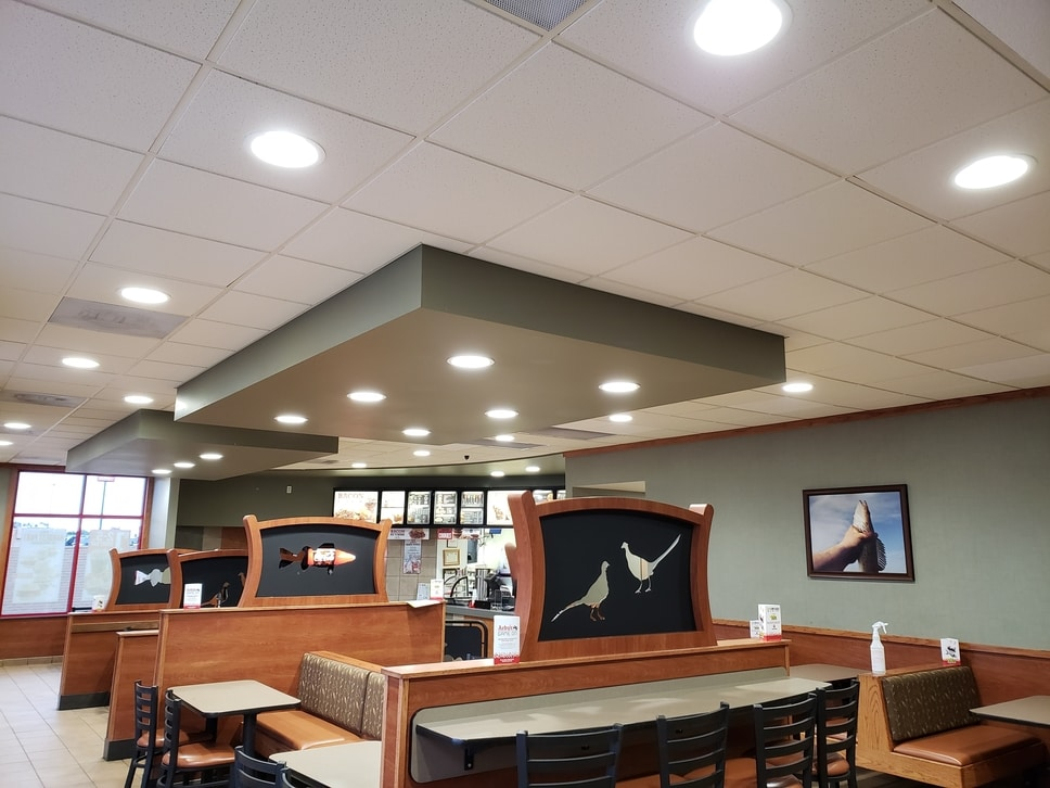 Lighting at Arby's